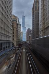 (JonasPotthoff) Tags: chicago tower cta loop trump