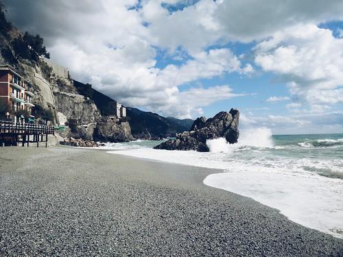 Wo man sein kann: am Strand. #CinqueTerre