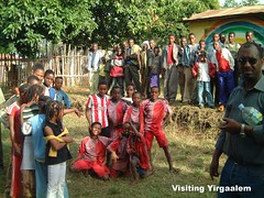 Charity visiting Yirgaalem