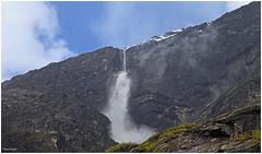 small avalanche near Kjenndalsbreen (PoldiFoto) Tags: norway norwegen avalanche lawine kjenndalsbreen