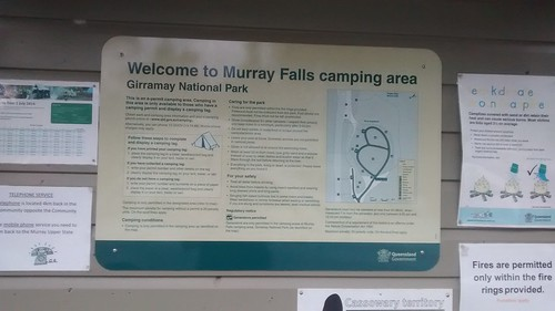 Murray Falls in Girramay NP