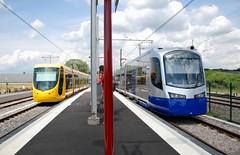 Mulhouse, Muses 07.06.2011 (The STB) Tags: siemens tram alstom tramway strassenbahn sncf avanto mulhouse citadis sola tramtrain strasenbahn u25500 citadis302 teralsace