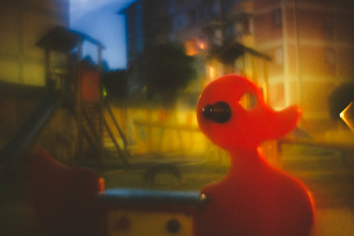 fake petzval duck