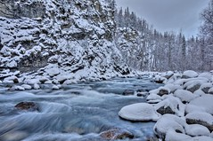 Hello Winter (jack4pics) Tags: winter alaska river canyon newsnow littlesu