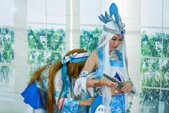 getting ready - AFA 2015 Singapore (Pic_Joy) Tags: anime lady youth costume singapore asia comic cosplay character manga makeup hobby teen teenager leisure  cosplayer  afa               animefestivalasia