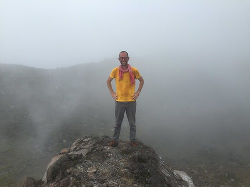 At the Summit (Volcan Izalco, El Salvador)