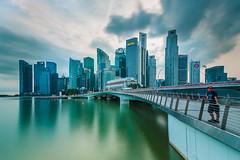 Jubilee bridge - Marina Bay, Singapore (Rizaldy Norca) Tags: jubileebridge
