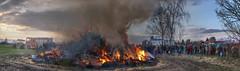 Osterfeuer2015HetjershausenPanorama3 copy (alexander.heise) Tags: panorama germany deutschland fire spring feuer hdr frhling osterfeuer niedersachsen bruche hetjershausen