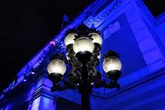 Royal Swedish Opera (Matthias Harbers) Tags: city blue light urban lamp photoshop europe sweden stockholm sony cybershot elements labs dxo traveling tobaz rx100 royalswedishopera