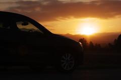 Sunset 20151212 - 1 (HAMA-ANNEX) Tags: sunset mazda k3 cx5 smcpentaxda55mmf14sdm