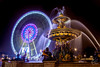 Fontaine des mers & Grande Roue, Place de la Concorde, Paris, France (Julien CHARLES photography) Tags: sea paris france fountain wheel night europe concorde fountains bigwheel fontaine nuit hdr placedelaconcorde granderoue roue fontaines seafountain fontainedesmers