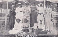 Westralian Native Ladies at Day Dawn, Murchison, Western Australia - very early 1900s (Aussie~mobs) Tags: daydawn murchison westernaustralia natives indigenous aborigine women female vintage group aussiemobs
