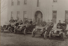 Portage Hotel, Men in Early Automobiles