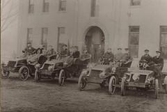 Portage Hotel, Men in Early Automobiles