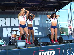 IMG_5969 (grooverman) Tags: houston texans cheerleaders nfl football game nrg stadium texas 2016 budweiser plaza nice sexy legs stomach canon powershot sx530