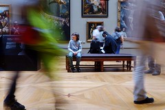 Capturing Motion Indoors  Blurred Motion Real People Lifestyles Horizontal People Adult Young Adult Person Day Myguyalf Eye4photography  Louvre Paris (dinalfs) Tags: capturingmotion indoors blurredmotion realpeople lifestyles horizontal people adult youngadult person day myguyalf eye4photography louvre paris