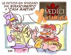 I Medici in Famiglia (Moise-Creativo Galattico) Tags: editoriali moise moiseditoriali editorialiafumetti giornalismo attualit satira vignette rinascimento fiction nazionalpopolare