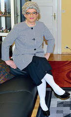 Ingrid023013 (ingrid_bach61) Tags: pleatedskirt faltenrock blazer mature