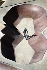 Bycicle boy (sz1507) Tags: geometry geometria urbanview panoramaurbano allaperto dallalto bici bikepark skatepark alleravelo vélo ombra shadow urbanart urbanistica città fun d60 nikond60 acrobatic sport ville luxembourg lussemburgo city cityview street parco park pista biker boy bike bicicletta bycicle