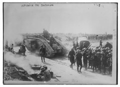 Advance on Bapaume (LOC) (The Library of Congress) Tags: libraryofcongress dc:identifier=httphdllocgovlocpnpggbain27893 xmlns:dc=httppurlorgdcelements11 tank armoredwarfare armouredwarfare britisharmy thegreatwar greatwar worldwarone worldwari wwi firstworldwar britishexpeditionaryforce bef anzacs anzac soldier soldiers