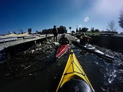 """Washington DC, The Power and the Gory"" (DigitalDoug - ) Tags: cka chesapeakekayakadventuremeetup paddle on1softwareadobecc kayak chesapeakekayakadventure gopro fallanacostiariver"