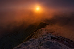 From The Pen y Fan Summit (J_Tom) Tags: brecon becon wales autumn sunrise