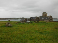 Iona Abbey 9 (StaircaseInTheDark) Tags: scotland iona isleofiona ionaisle britain greatbritain uk unitedkingdom historic abbey ionaabbey church