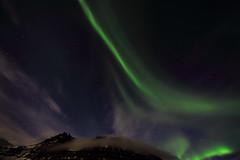 2016 03 ICELAND Kirkjufell nothern light montagne (AKAMASSI) Tags: iceland night northernlight sky scandinavie scandinavia mountain light auroreboreale auroresborales green