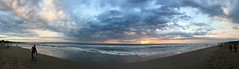 Legian sunset (enjosmith) Tags: legian sunset beach ocean waves couple clouds