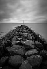 B&W (Nik He) Tags: tokina tokina1116 longexpose stone meer steine langzeitbelichtung schwarzweis black white sahlenburg cuxhaven