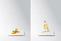 Passion Fruit Mousse (Simon.St) Tags: food foodphotography levitating dessert gourmet finedinning plating art artistic foodart foodporn