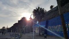 Beach Sunset Flare (Jultom T.) Tags: graffiti jultom julientesson benalmádena málaga espagne beach sunset flare plage tag surexposition andalousie spain закат солнца клеш フレア 日没 日落 sonnenuntergang la puesta del sol reflejo en lente отблеск от линз レンズフレア アンダルシア andalucía benalmadena