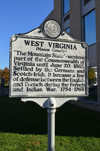 West Virginia HIstorical Marker Point Pleasant, WV