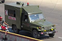 Bangladesh Army Toyota Land Cruiser 70 Ambulance. (Samee55) Tags: bangladesh army toyota land cruiser 70 ambulance dhaka carspotting