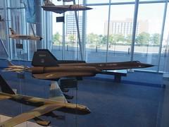 Models - F-106A Delta Dart, F-4E Crusader, YF-12A, F-1000 Super Sabre, B-52 Stratofortress (magnet_terp) Tags: museums vacation hamptonroads virginia virginiaairandspacecenter f106a deltadart f4e crusader yf12a f1000 supersabre b52 stratofortress
