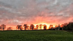 Cheshire Sunset (Charliebubbles) Tags: