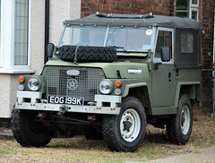EOG 199K (2) (Nivek.Old.Gold) Tags: 1972 land rover 88 series 3 lightweight softtop 3948cc army