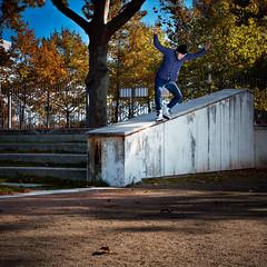 back mistrial (Guillaume_BRIAND) Tags: nikon d7100 2470 tamron sb700 flash cobra roller skate rueil malmaison