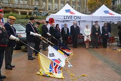 Poppy Appeal Launch, Birmingham County Royal British Legion 2016 (photobobuk - Robert Jones) Tags: poppy appeal launch royalbritishlegion memory fallen future living birmingham england greatbritian uk