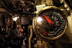 Slow Astern (6079 Jones,P) Tags: canonefs1855mmiii teleflex amphion acheron aclass speed dial gauge solent hampshire dockyard historic portsmouth hmsalliance submarine navy royal img4879 canon eos 1200d