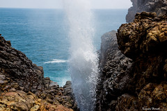 Blowhole (kumherath) Tags: blowhole srilanka hummanaya southernprovince oneofitskind sea sound spray canon5dmark3 daytime touristattraction