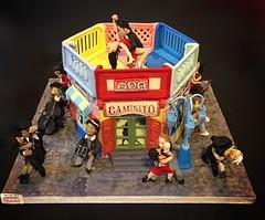 Cake International Birmingham- novelty silver award (The Cakatier at Sugar-Daisies) Tags: labocacake laboca argentinetango caminito caminitocake argentinetangocake
