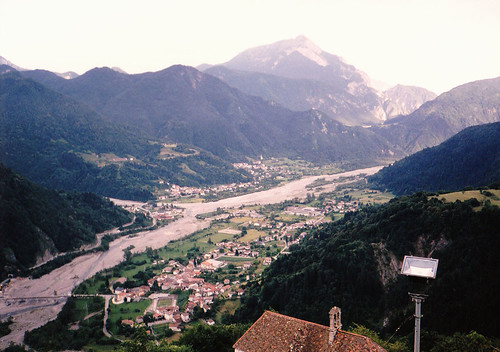 Arta Terme, Látkép a But völgyére