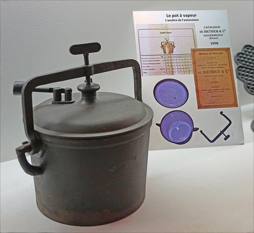 Le pot à vapeur (musée du fer, Reichshoffen)