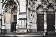 Cathedral (zooksalmighty) Tags: nyc ny newyork newyorkcity eastcoast manhattan cathedral stpatrickscathedral saintpatrickscathedral midtown church steps stairs gadzooks zachmcminimy zackdeschain fort fortblog gadzooksphotography zooksalmighty