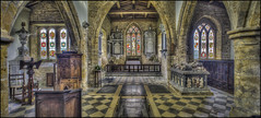 Fawsley Church Panorama (Darwinsgift) Tags: fawsley church daventry northamptonshire interior panorama hdr photomatix nikkor pce 24mm f35 ed d mf nikon d810