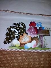 1653995_1043719115640577_7970656077015258575_n (jovanapinturas) Tags: pinturasjovana pinturas em tecido artesanato artes artes decorativas casa decorao tecidos toalhas decoradas fraldas panos decorados pintura pano