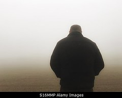 Photo accepted by Stockimo (vanya.bovajo) Tags: stockimo iphonegraphy iphone disappointed man rear view no hope mist fog foggy weather alone lonely loneliness active adult caucasian unhappy mystic mysterious