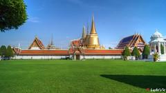Palais Royal, Bangkok (02) (Ld\/) Tags: grand palace palais royale bangkok thailande thailand king roi city citytrip na phra lan road read  borom maha ratcha wang