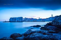 Blue Dubrovnik (james smyth) Tags: dubrovnik blue landscape seascape croatia bluehour banjebeach oldtown harbour leebigstopper hrvatska